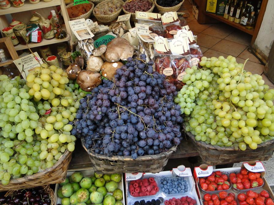 Paleo groenten en fruit