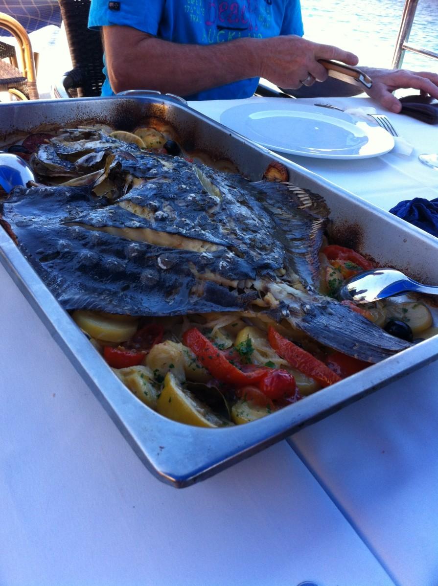 paleo, vis met groenten