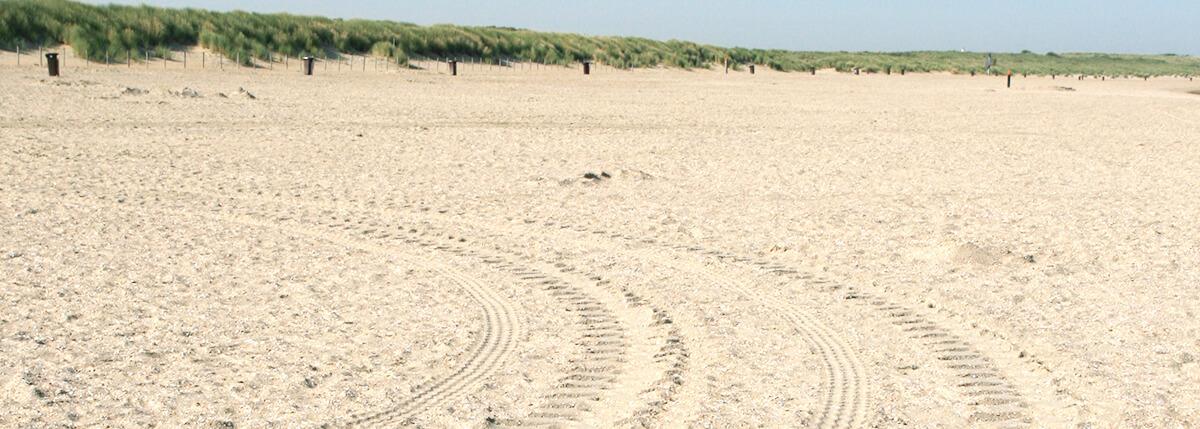 zand op strand